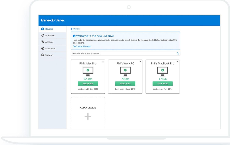 backup multiple deveice (Window/Mac)