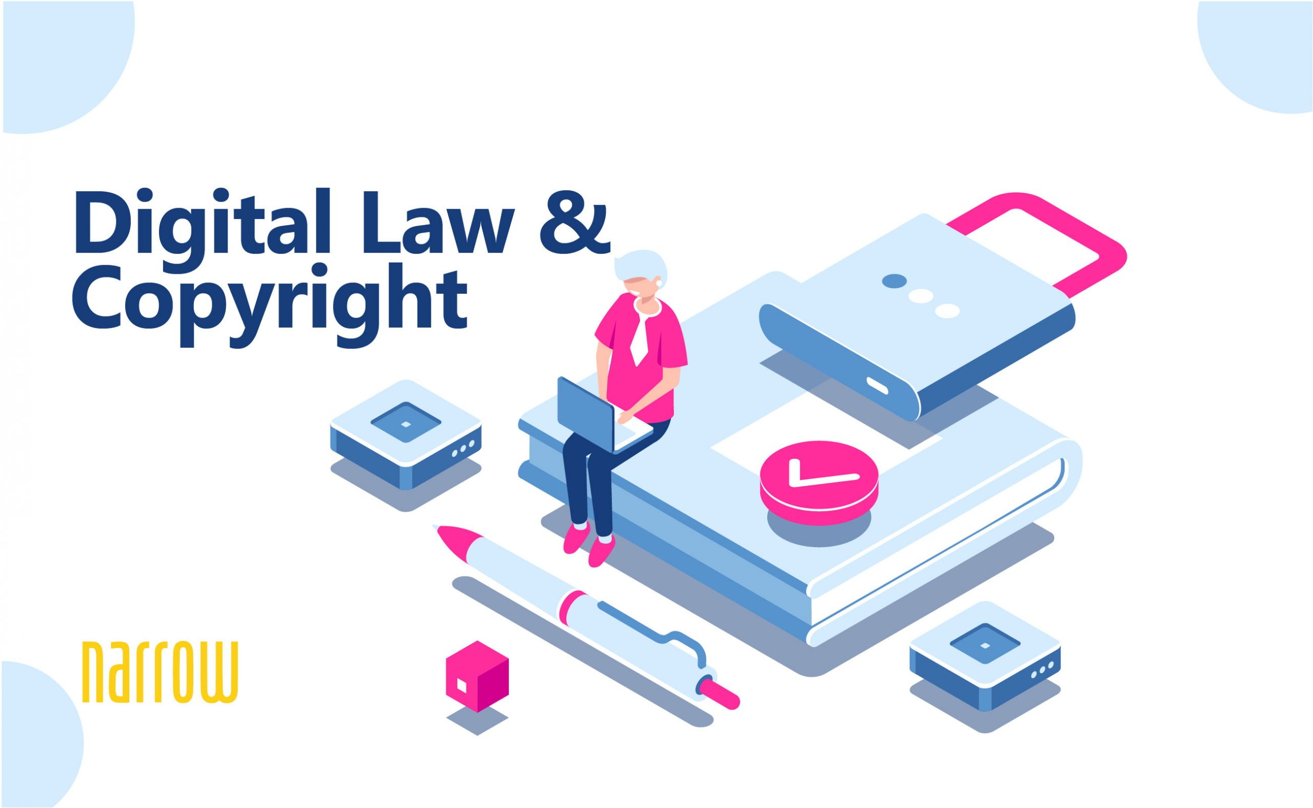 Copyright Website's Content and Digital Law