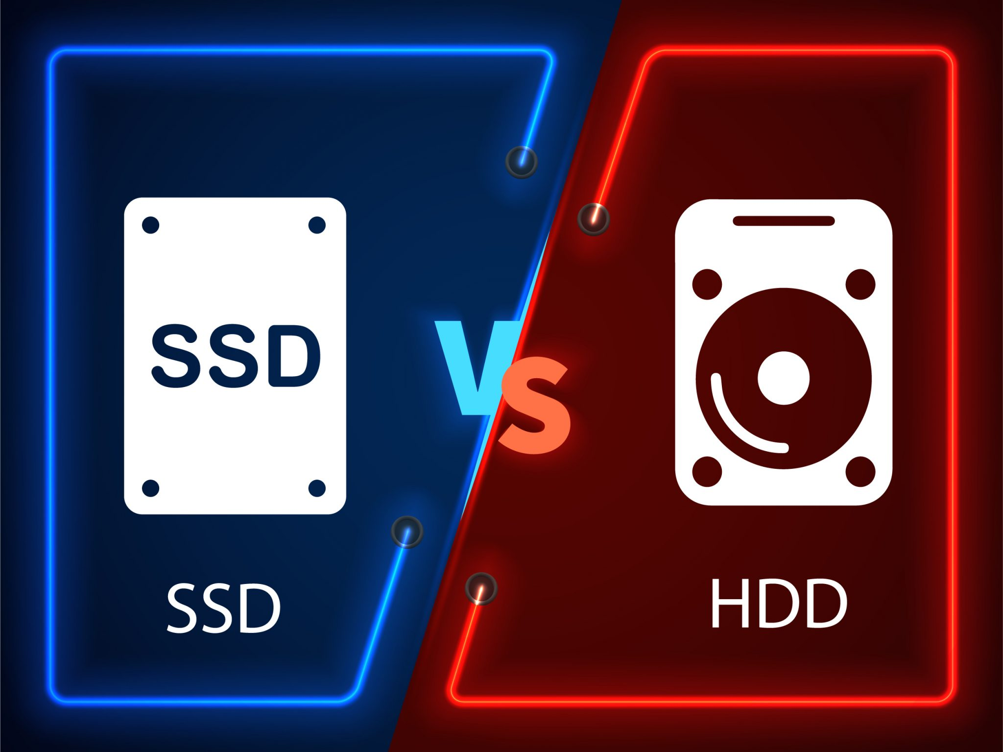 SSD and HDD differences