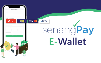 E-Wallet Payment: SenangPay New Feature!